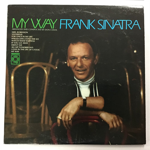 Frank Sinatra - My Way - Quadradisc Vinyl Record LP