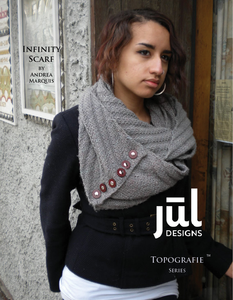 Infinity Scarf Pattern Cover