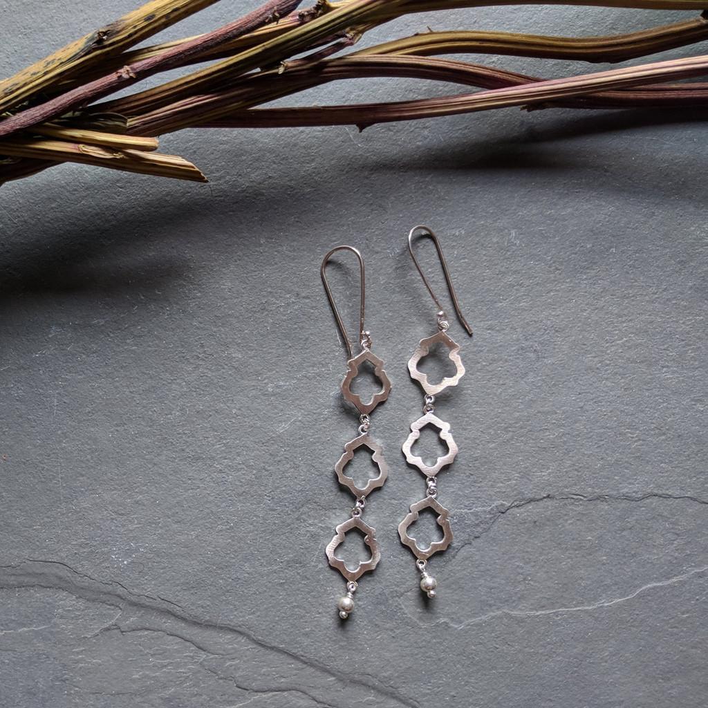 Lotus Earrings No. 3
