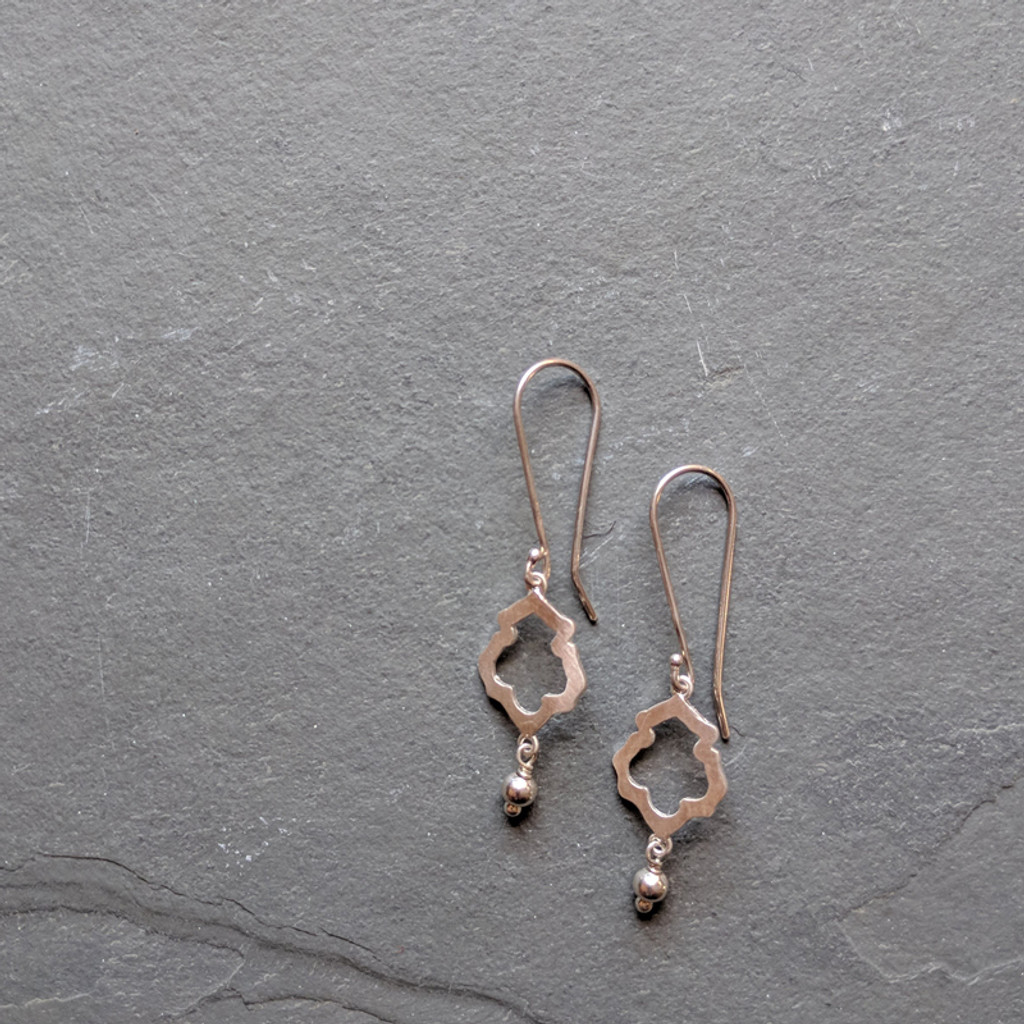 Lotus Earrings No. 1