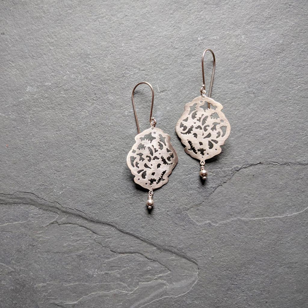 Acanthus Earrings No. 1