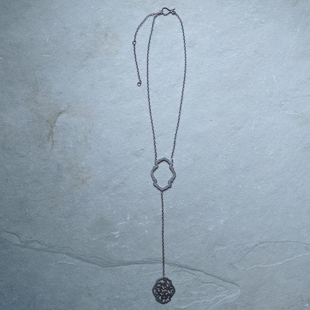 Acanthus Necklace No. 2 Patina