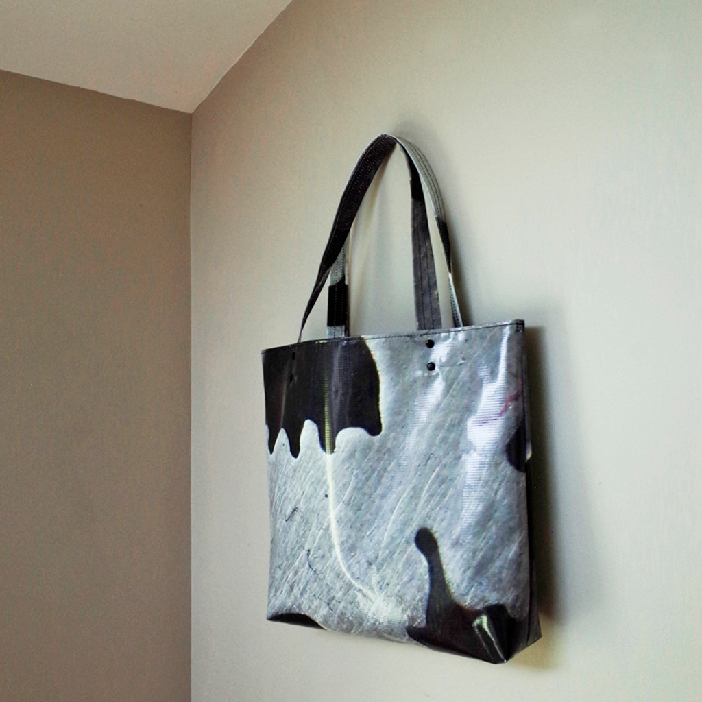 Upcycled Vinyl  Banner Special Edition Bag No. 5