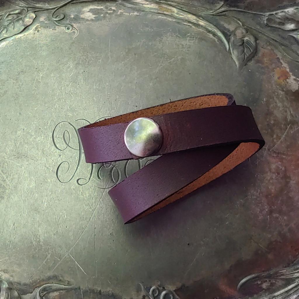 Simple Snap Shawl Cuff / Bracelet / Choker