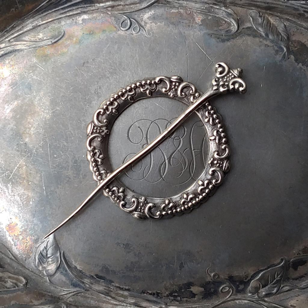 Crown Chakra Cuff / Shawl Pin