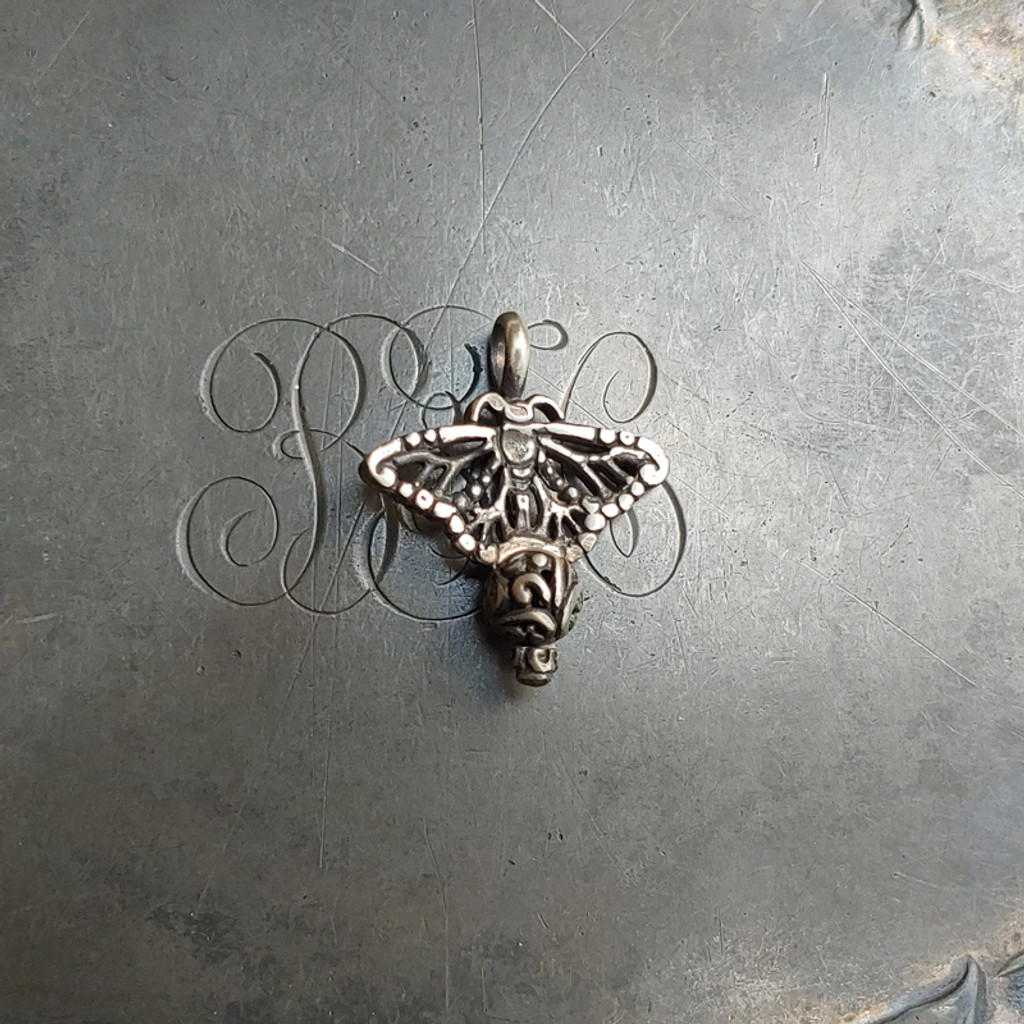 Filigree Monarch Butterfly Charm