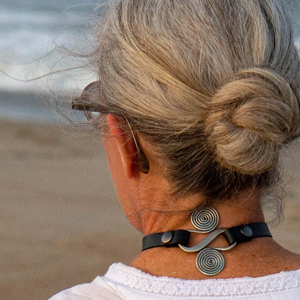 Women's Wealth as a choker necklace