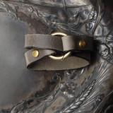Tiny Ring Shawl Cuff   Bracelet