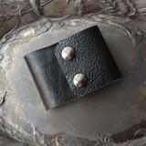 Black Diamond Leather Cuff