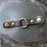 Cordoba Tiny Ring Closure - Antique Brass