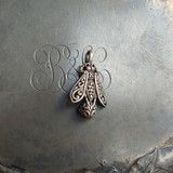 Filigree Honeybee Charm