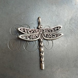 Filigree Dragonfly Charm