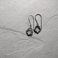 Lotus Earrings No. 1 Patina