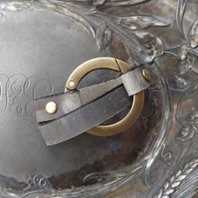 Round Ring Shawl Cuff