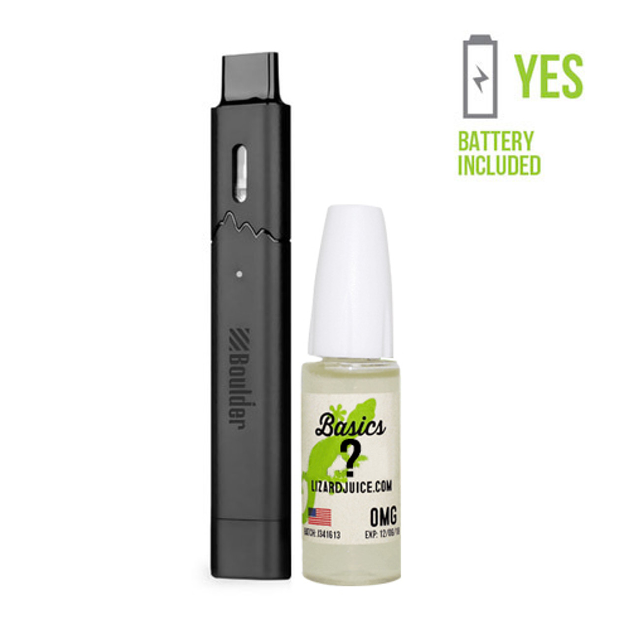 Boulder Rock Vape Pen with Free Juice | Ships Today | Lizard Juice