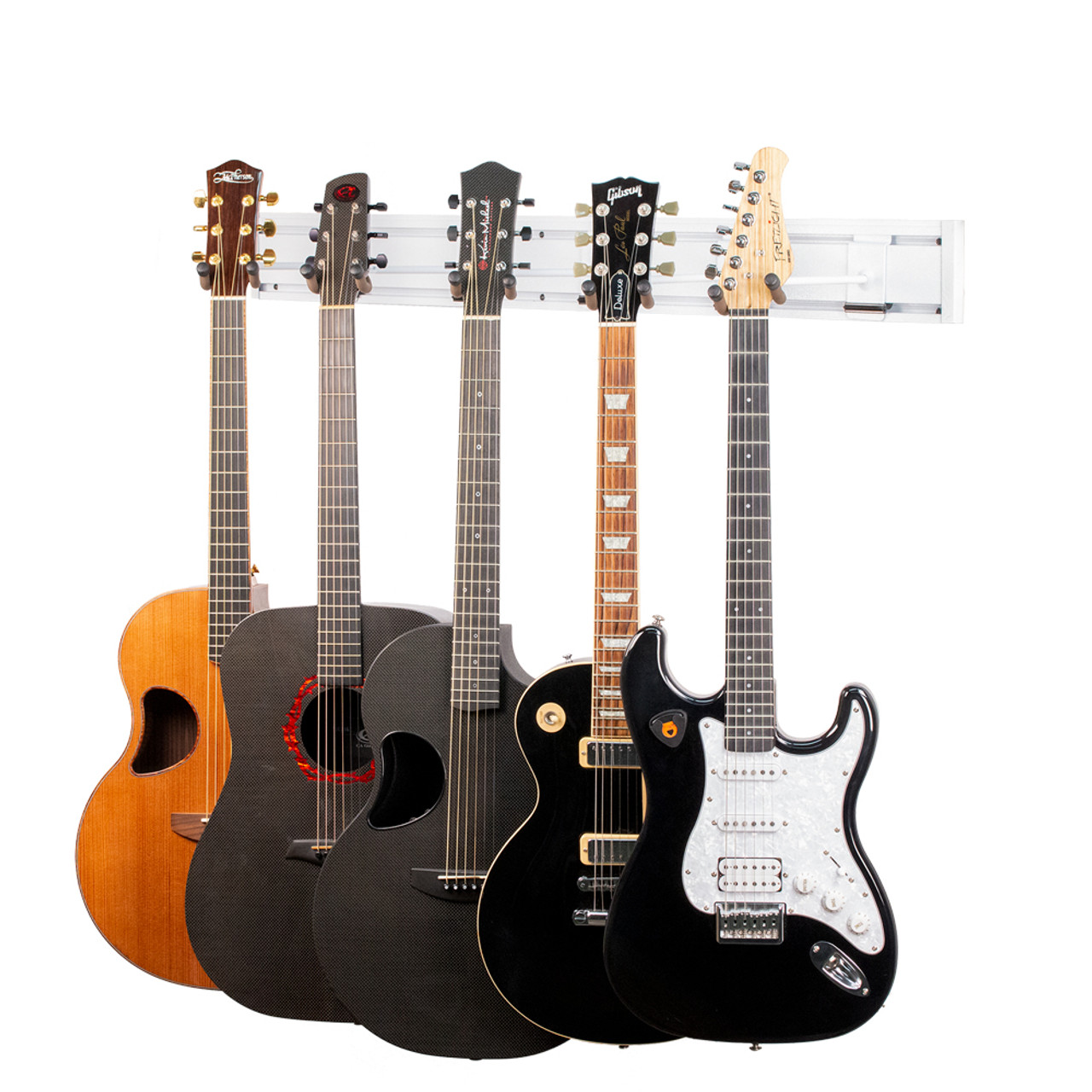 String Swing Guitar Rack Black Vein Left or Right 5 Electric or Acoustic