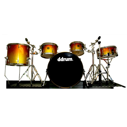 Complete Drum Set Display Fixture
