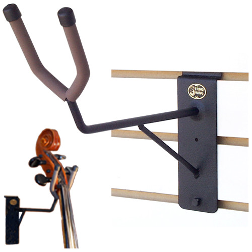 Vertical Wall Mount Bass Neck Support | BHH08