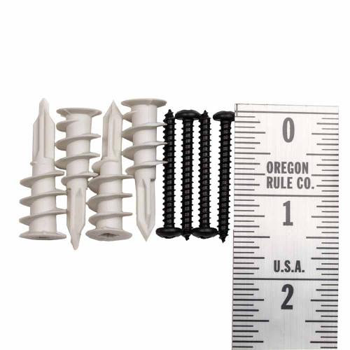 #8 x 1.5 inch screws