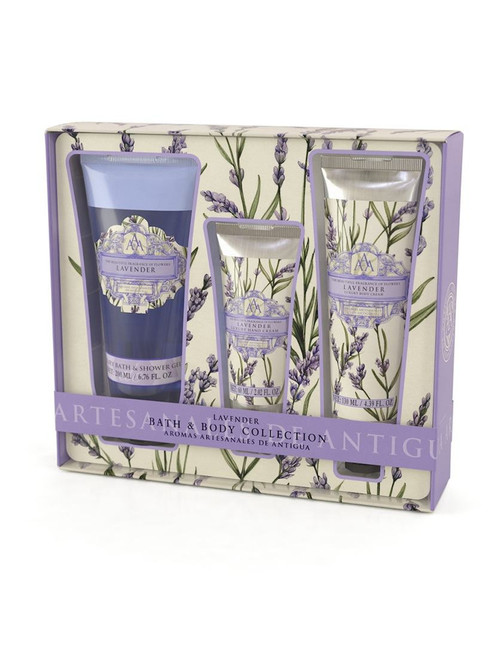 Lavender Bath & Body Gift Set
