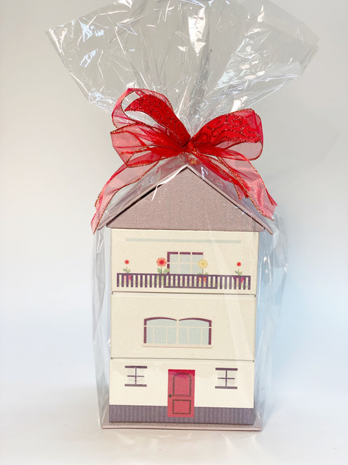 Paperboard House Stacker Gift Box