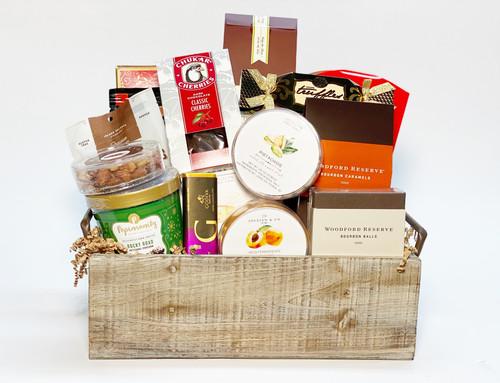 Rustic Deluxe Gift Basket