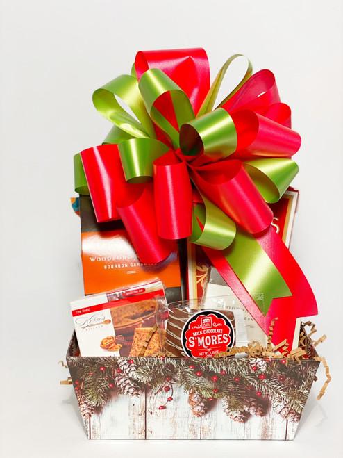 Holly & Berries Gift Basket