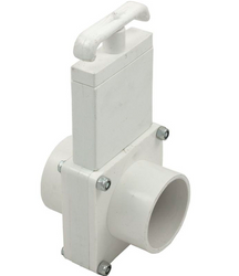 2 inch spigot x spigot Magic Plastics gate valve Canada
