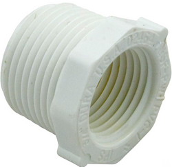 "3/4"" Male Pipe Thread x 1/2"" Female Pipe Thread reducer fitting 439-101"