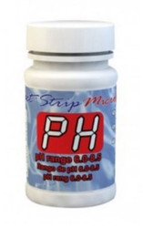 pH II Bottle of 100 Test Strips 486639-II