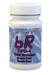 Bromine DPD-4 Bottle 100 Test Strips 486644