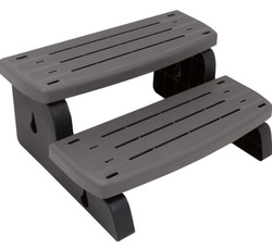 Waterway Spa Steps Charcoal 535-2209-CHC