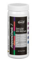 Aquacheck Silver 7 Way Test Strip total hardness total ch 551236
