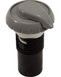 "1"" Top Access Air Control 5-Scallop Smooth Black 660-3581"