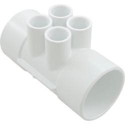 1.5 Slip or 2 Inch Spg x 2 Inch Slip 6x 1 Inch Slip  Port Manifold 672-4550