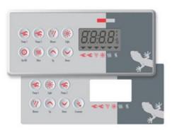 TSC-8 Control Panel 0200-007194 BDLTSC8GE1 Gecko