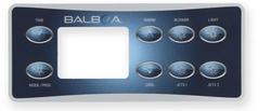 Balboa 8 button overlay
