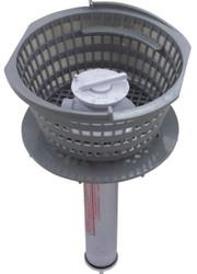 Lily Chemical Dispenser Basket Dark Grey R172662DG