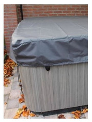 """Life Spa Deluxe Cover Cap 8' X 8' 12"""" Skirt Scl961"""