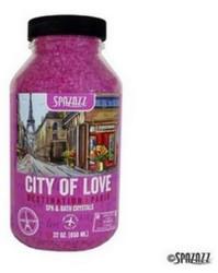 22OZ Crystals Destinations Paris City of Love Spazazz SPAZ301