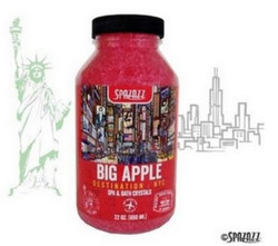 22OZ Crystals Destinations NYC Big Apple Spazazz SPAZ302