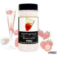 17OZ Set The Mood Crystals Strawberries n' Champagne Roman Spazazz SPAZ502