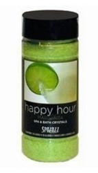 17OZ Set The Mood Crystals Margarita Happy Hour Spazazz SPAZ504