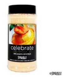 17OZ Set The Mood Crystals Mimosa Celebrate Spazazz SPAZ509