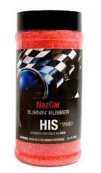 17OZ Crystals His and Hers Novelty NAZCAR Burnin Rubber Spazazz SPAZ912