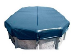 16' X 32' Above Ground Oval Winter Cover with Winch Rop WC1632O