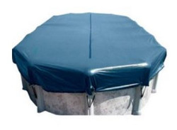 18' X 33' Above Ground Oval Winter Cover with Winch Rop WC1833O