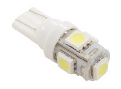 LED 12V DC White WedgeT10 For Gecko IN.YJ 246AA0064