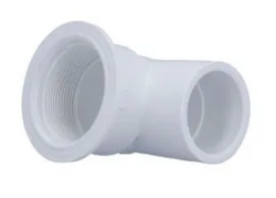 Hydro Air Suction 90 Degree 1 1/2 Inch Slip 30-6103WHT