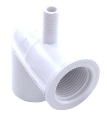 3/8b Air x 3/4 Water Elbow Ozone Body 212-0590